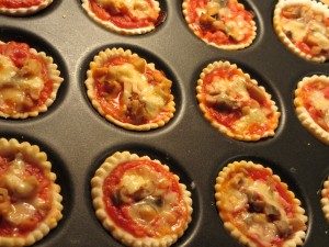 Mini- pizzas