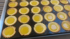 Tartelettes clementines
