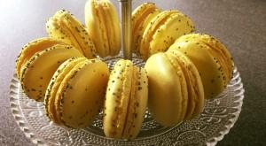 Macarons à la fleur d'oranger