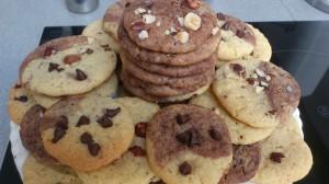 Cookies amandes Noisettes